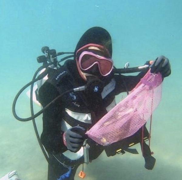 沖縄 水中クリーン&ビーチクリーン